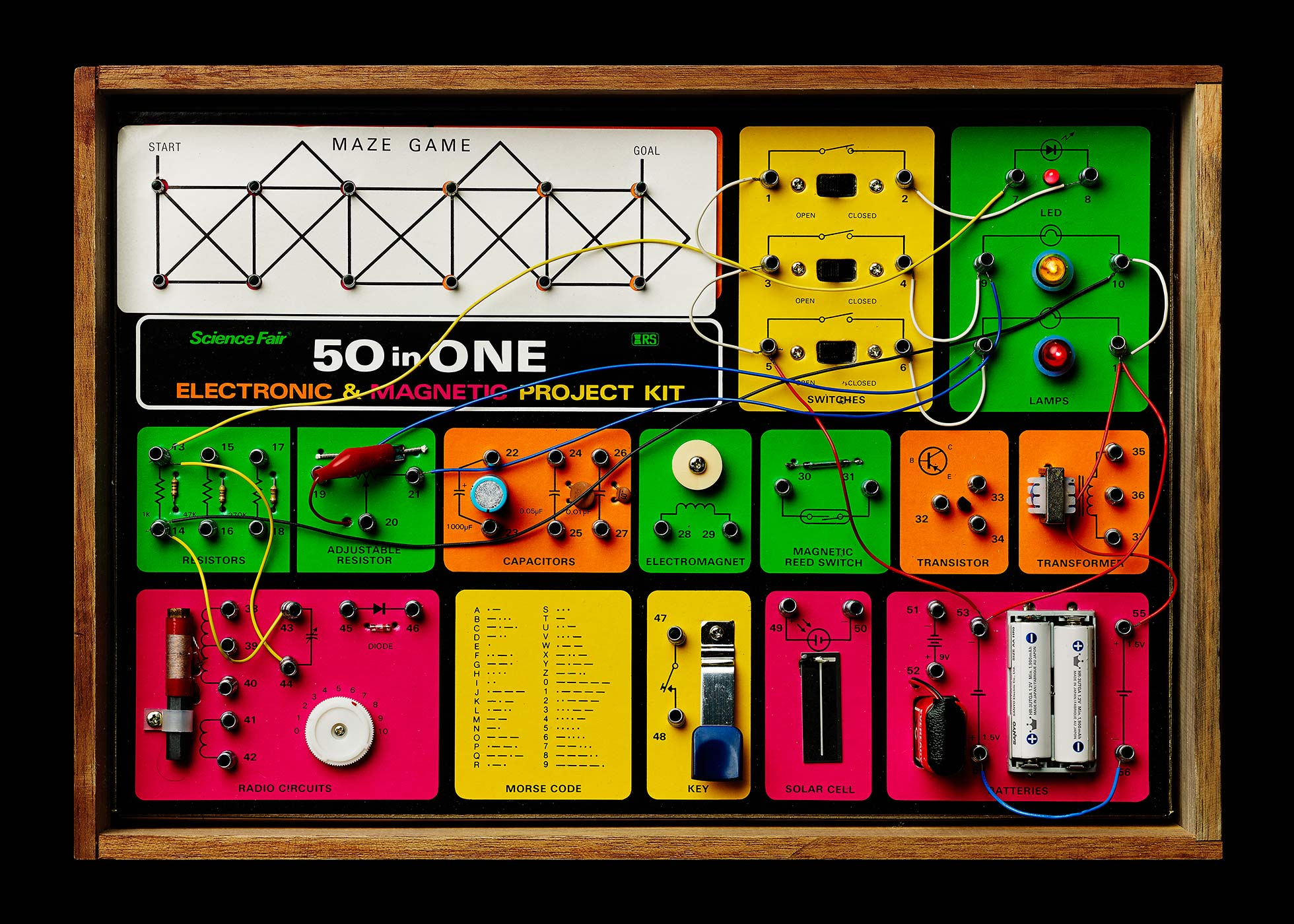 Vintage electronic kit 50 in 1