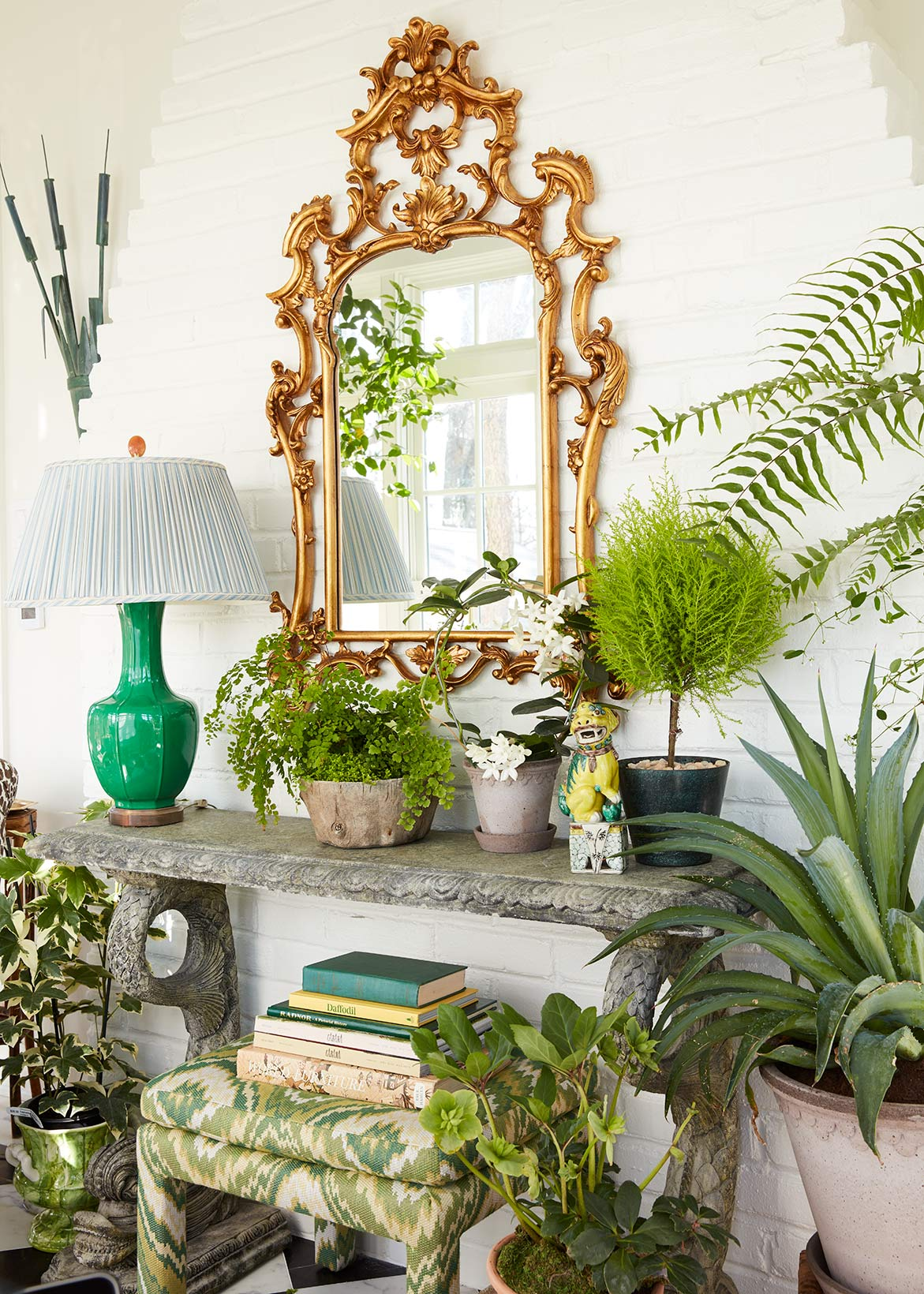 garden room style photograph for House Beautiful magazine